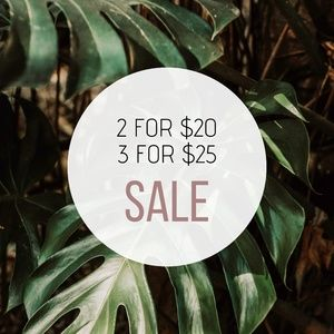Other - SALE! ☆ 2/$20 • 3/$25